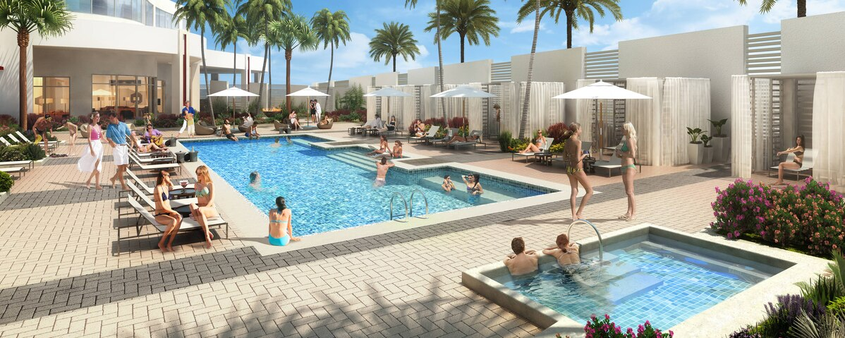 Pool Area . Picture from Hotels Site