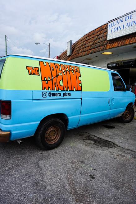 Mora Pizza Van
