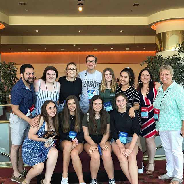 What a fantastic last day of festival! And our own Hayley Johnson took part in a staged reading of a brand new musical working with the team (and leading lady) behind Broadways Tuck Everlasting! @corneliaconnellyhs @rosaryroyals @servitehs #thesfest19 #werecominghome #thepartysover #thelasttrip