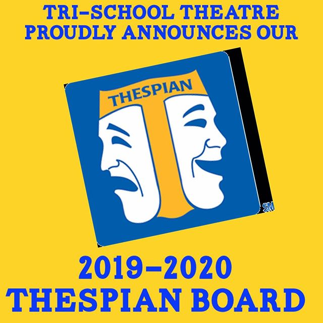It's shaping up to be one of our best years yet!!! #cathespians #edta #thespianboard @corneliaconnellyhs @rosaryroyals @servitehs @thespiansociety