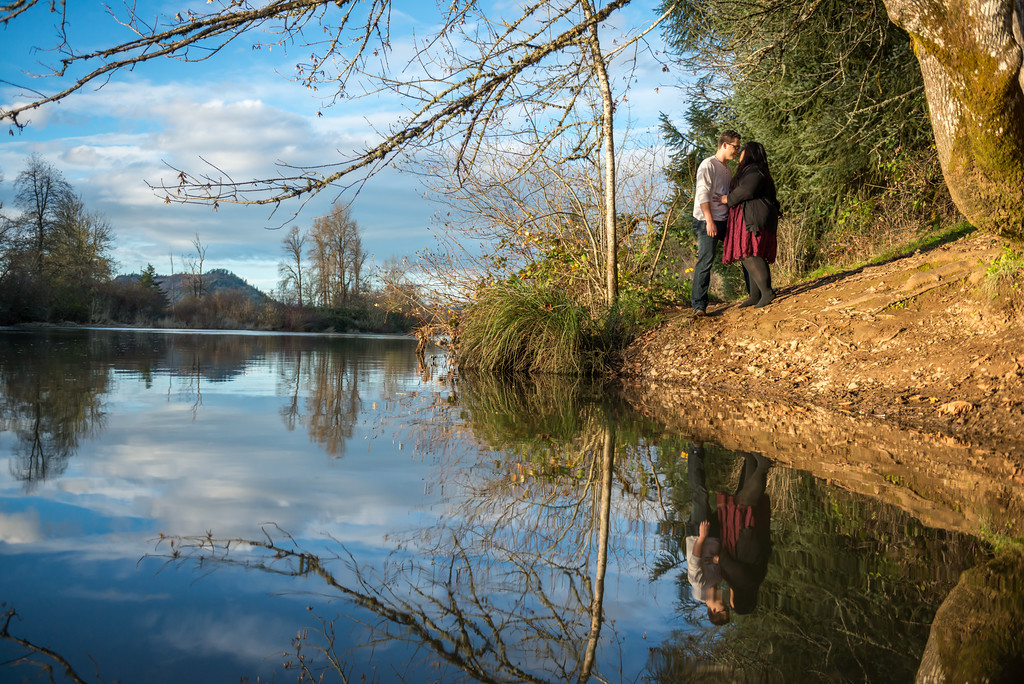 Wes Fisher Photography - Engagement - couple with reflection.jpg