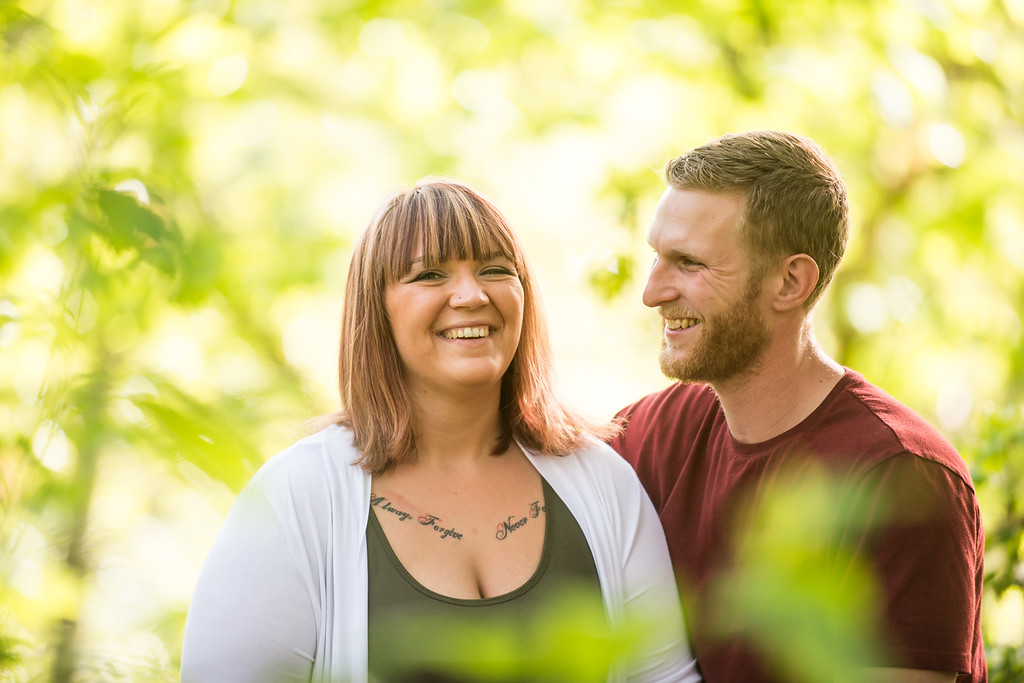 Wes Fisher Photography - Engagement - laughing together.jpg