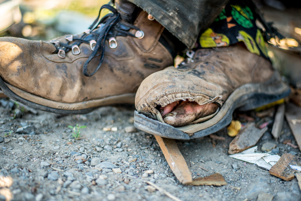Hope for the homeless - wes fisher photography - portrait project - worn out shoes.jpg