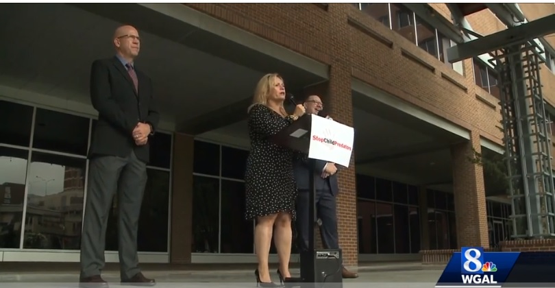 Clergy abuse survivors urge lawmakers to make changes to prevent further abuse - October 11, 2018 | WGAL