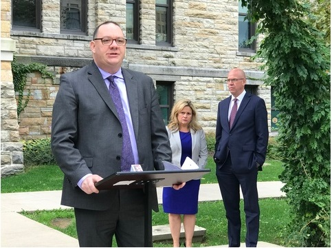 Clergy abuse survivors urge PA Senate to pass reforms - October 12, 2018 | WBRE/WYOU