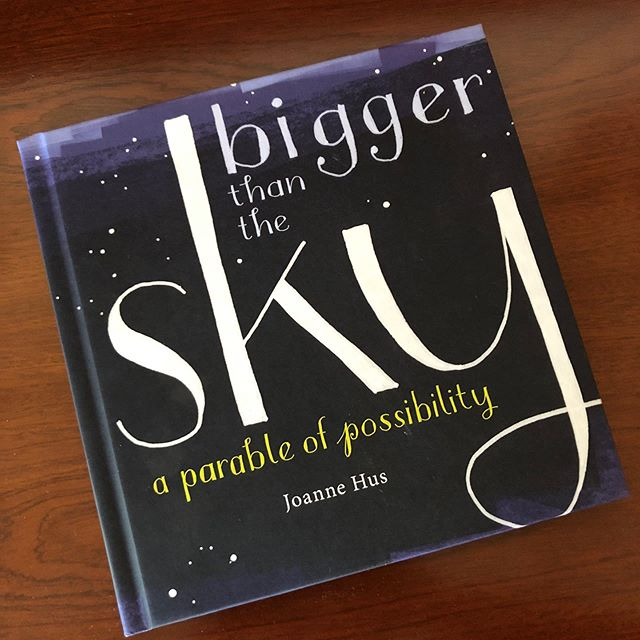 Now available! Bigger Than the Sky: A Parable of Possibility. Link in bio.