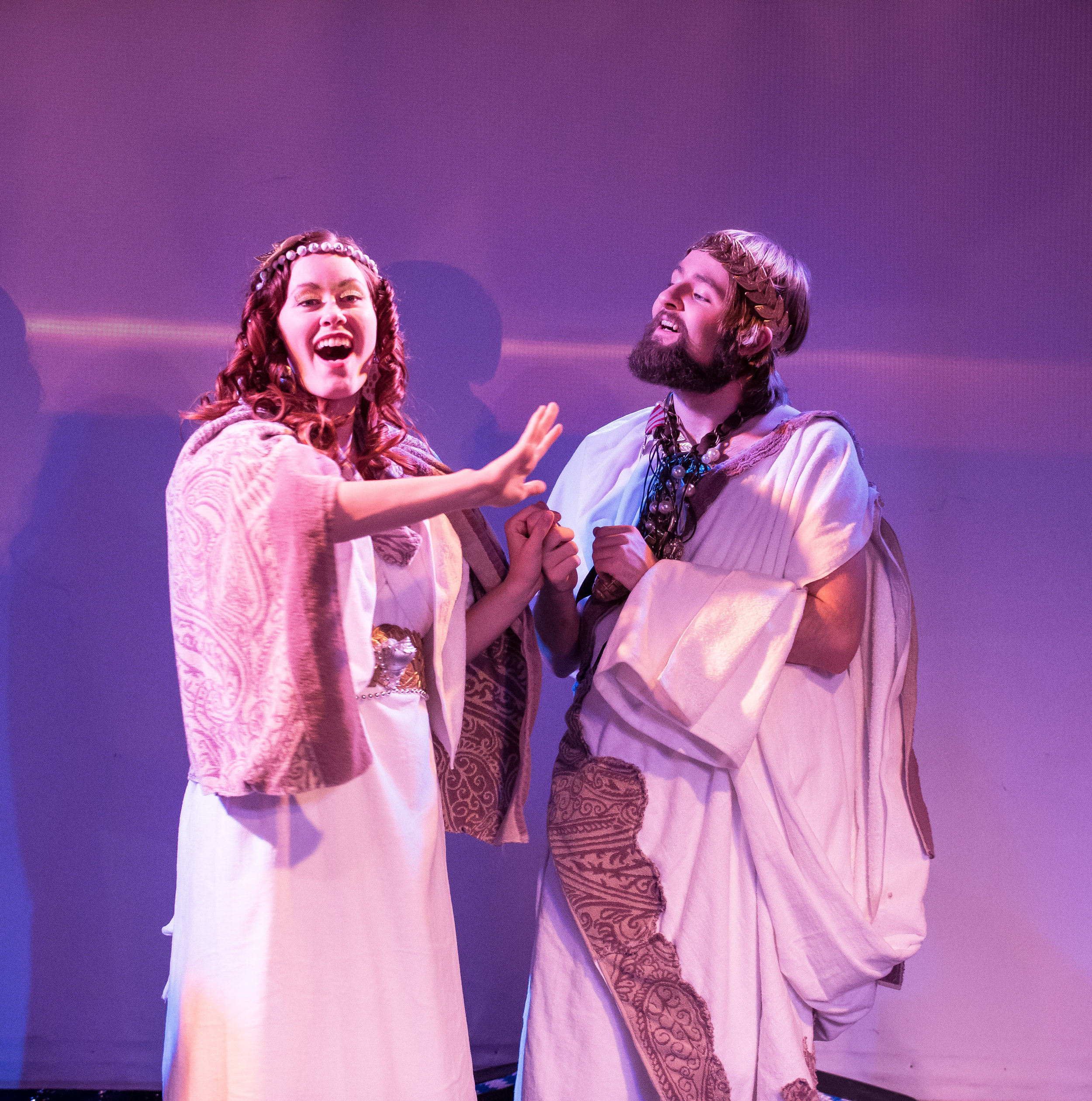 Kaitlyn Althoff as Desdemona &  Christopher Wells  as Othello