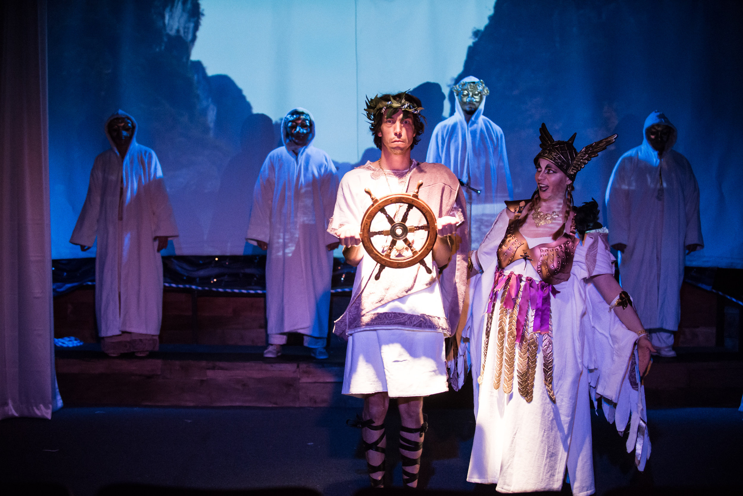 Zach Brown  as Iago &  Patti Murtha  as Valkyrie