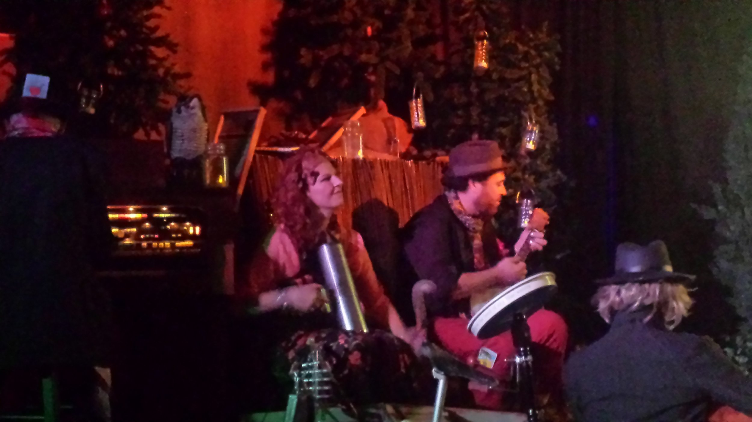 Kimberly Franco  &  Brian Schey  as the Gypsy Band