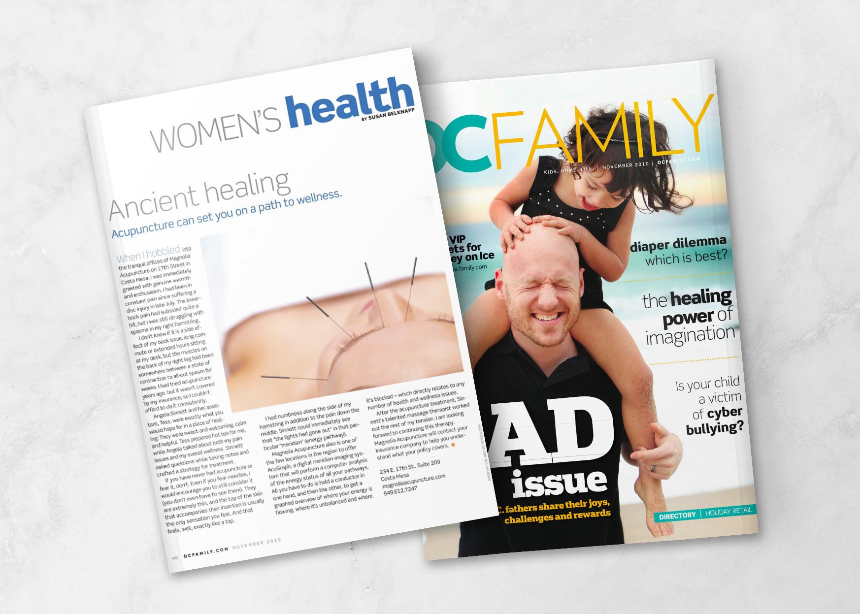 OC Family Magazine Dad Issue