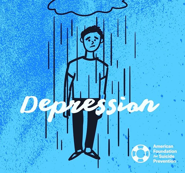 Depression is real and something that takes an effort to understand if you haven't experienced it. If someone is willing to let you in on their struggles, be supportive and listen, that conversation could save a life.