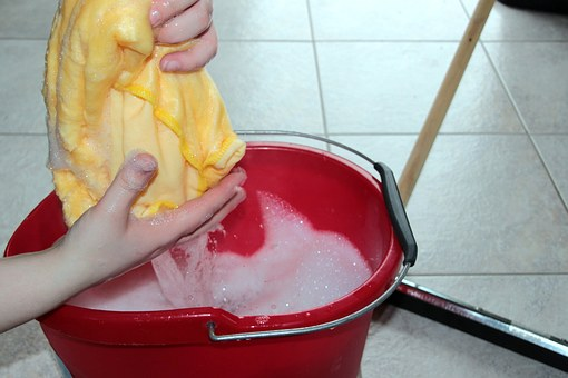 #8. Cleaning supplies
