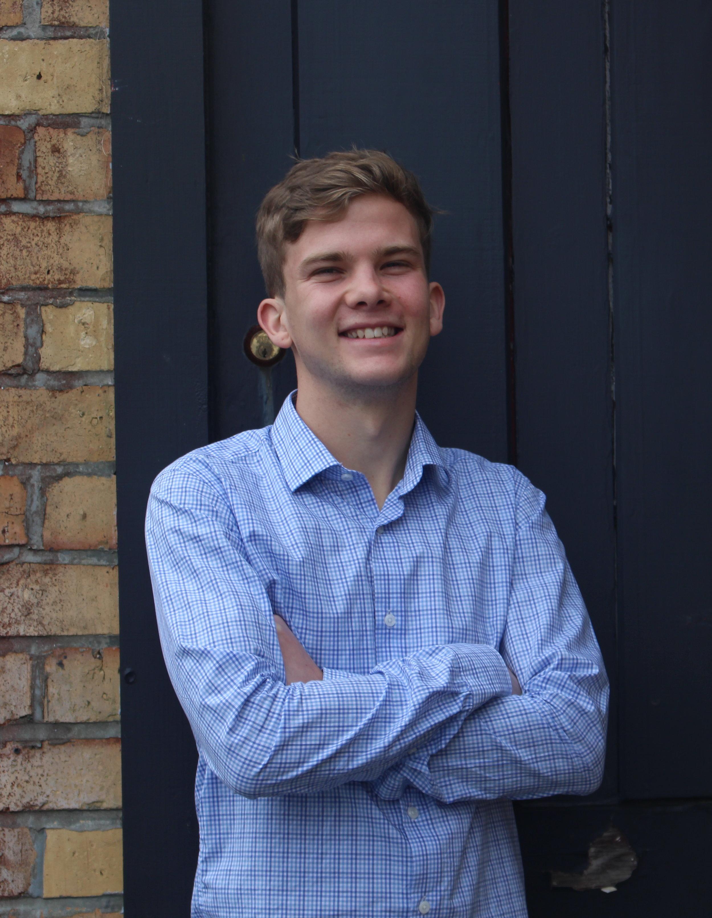 Gareth Baker    Intern/Project Assistant