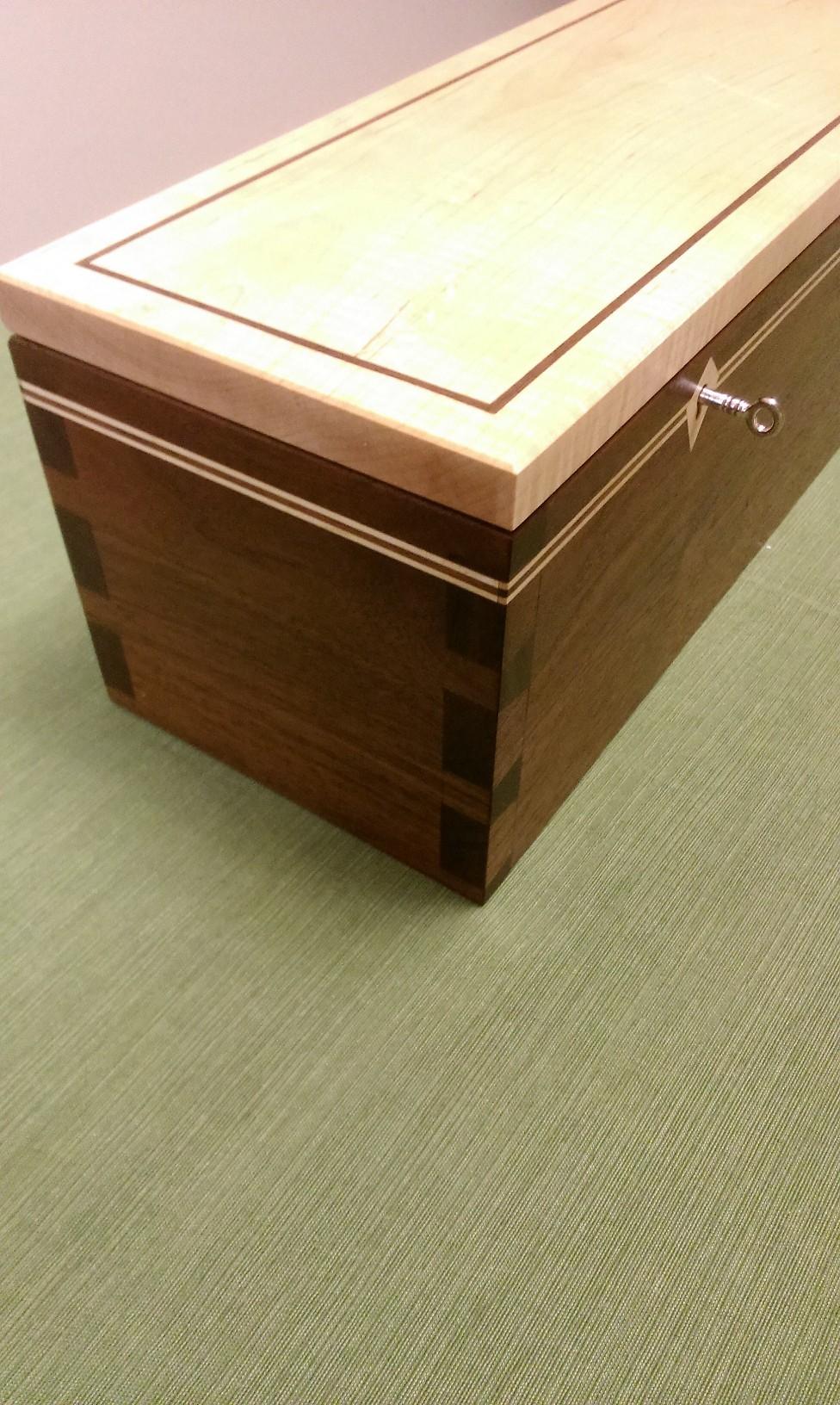 Unity Box - Walnut and Maple