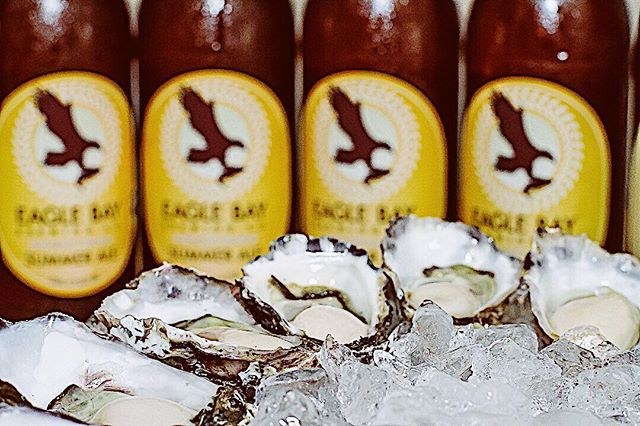 It's oysters with Jerry day 😊. It's $15 for a half dozen, $30 for one dozen or, indulge in 2 dozen for $55. Perfect with an @eaglebaybrewingco 🍺or two.