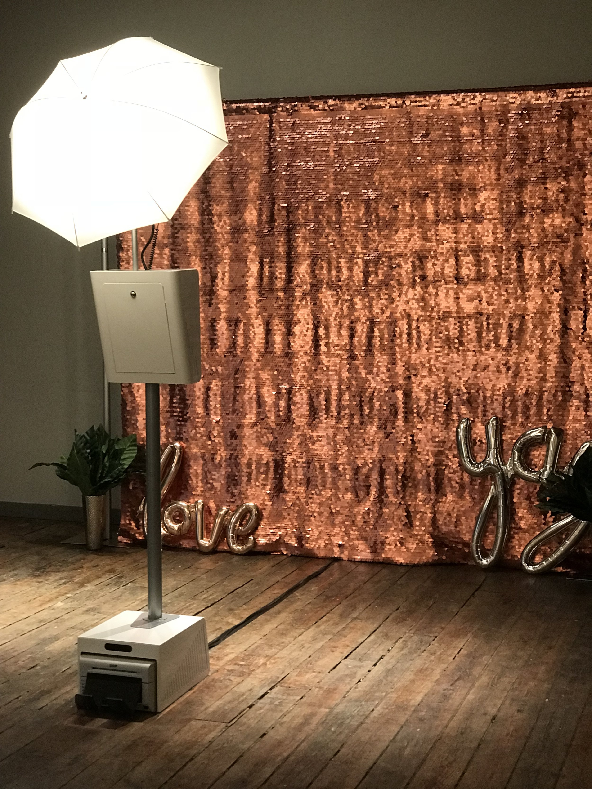 Modern, Sleek, FUN - Who knew a photo booth could look THIS good?!