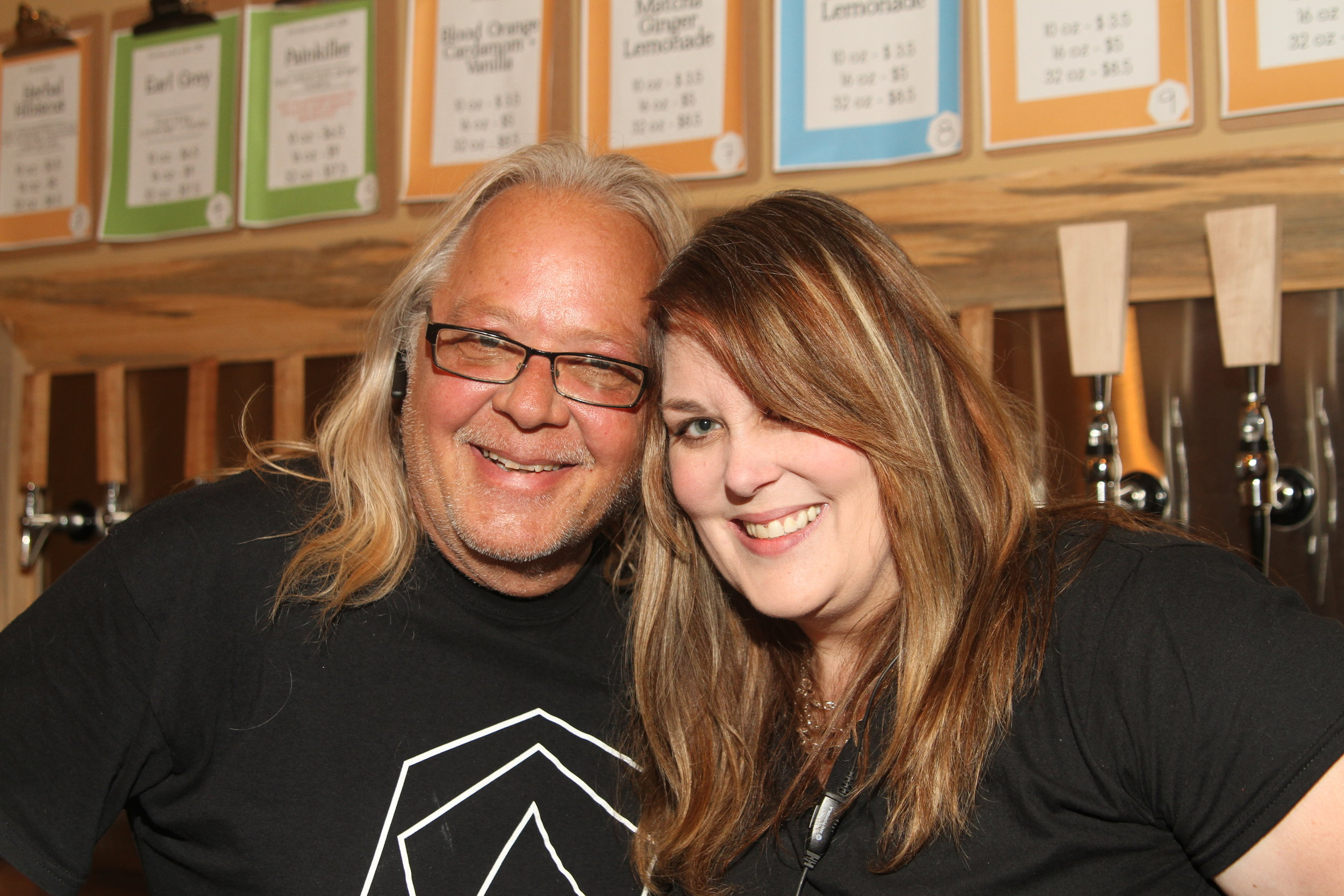 Mark and Amy - Founders of Float Alchemy & Float Nashville (and BFFs)