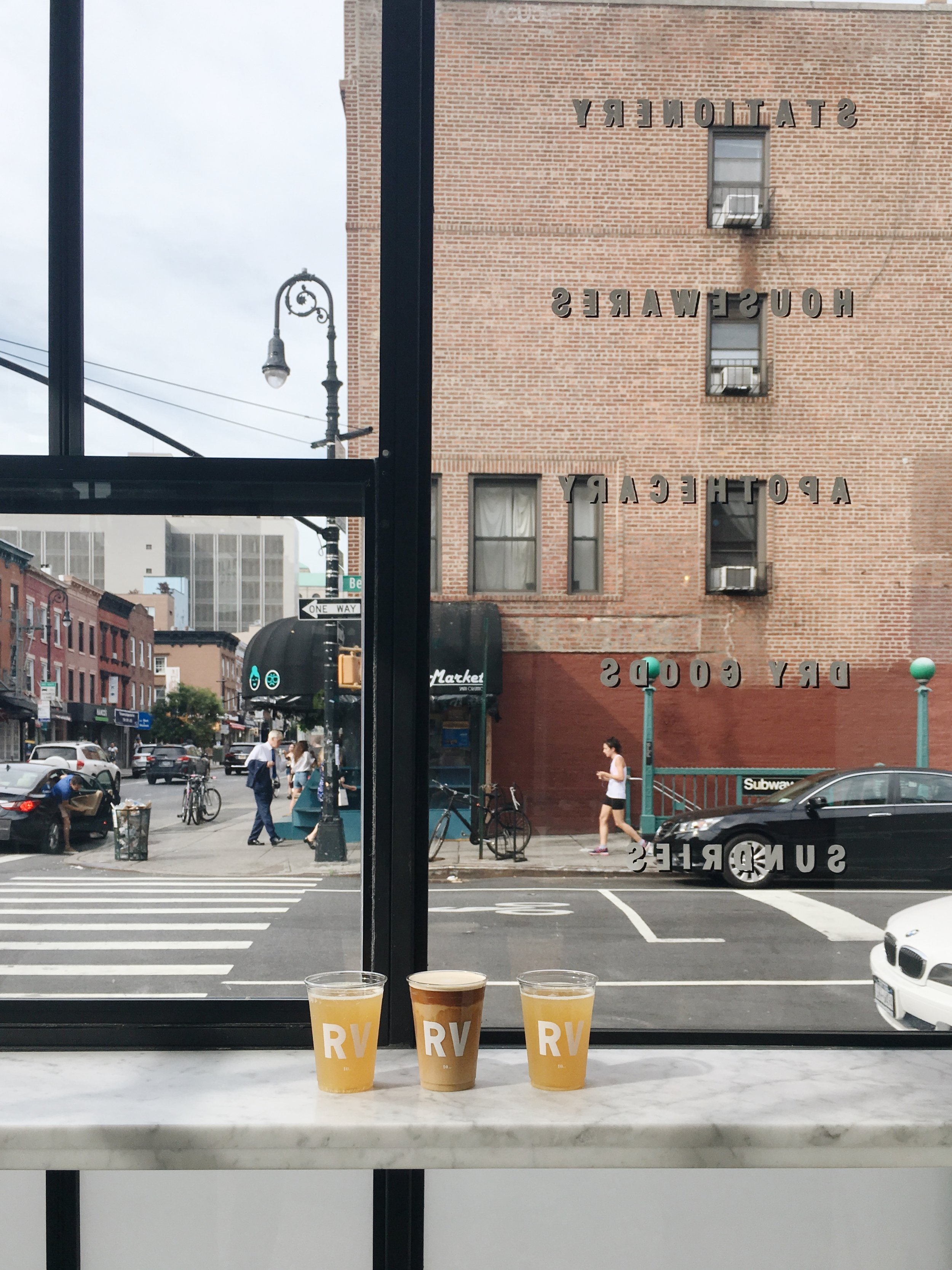 NYC cafe Regular Visitors