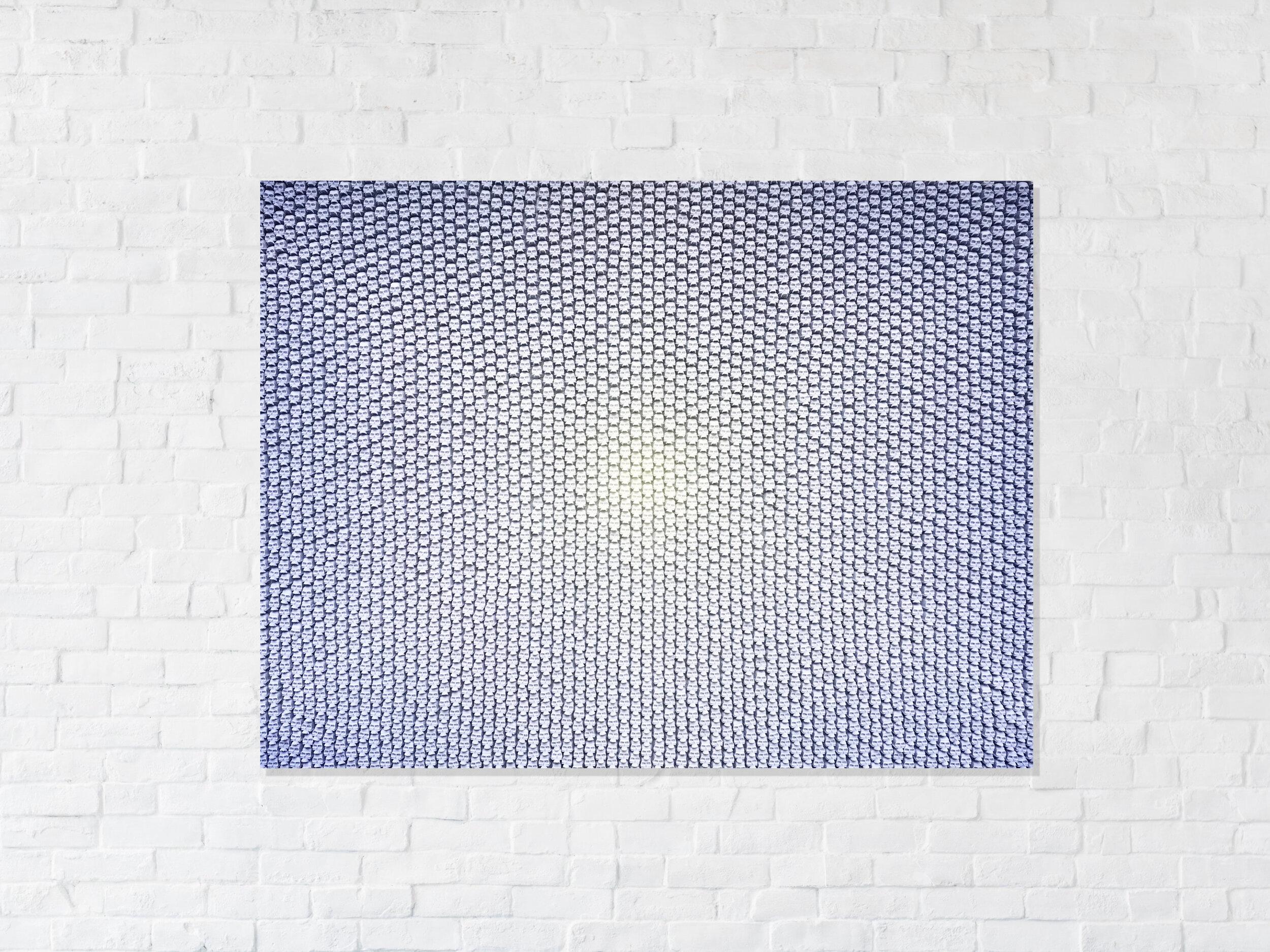 fifty shades - lavender - 4,500 hand cast skulls