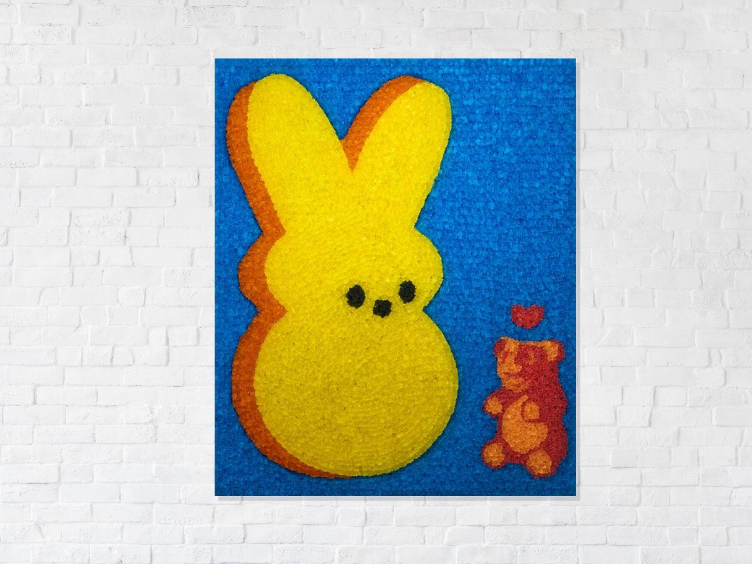 gummy love - 7,500 hand cast gummy bears