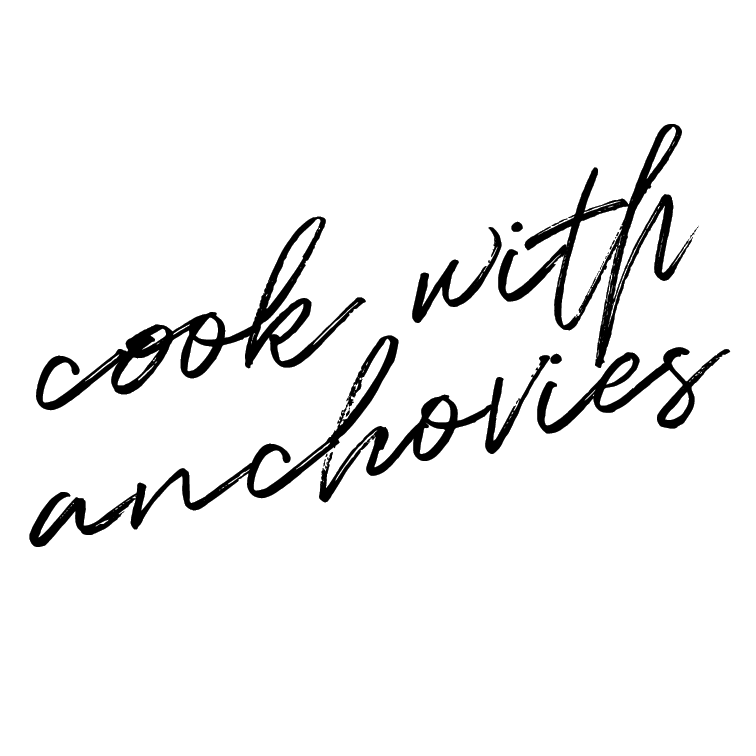 Cook with anchovies.   Anchovies are scary. They look scary, I assume they smell scary, and they likely taste scary. BUT, I'm trying to make myself get out of my food comfort zones to cook the things that scare me. So, if YOU have any favorite recipes that call for anchovies, share please!