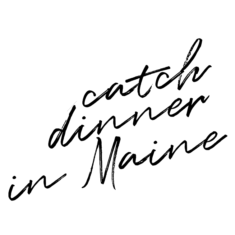 Catch my dinner in Maine.   For some reason, Maine has always intrigued my heart. I think I'd like to have a home there someday, MAYBE. But for now, I'll settle on a fresh dinner near the ocean, buried in the forest.