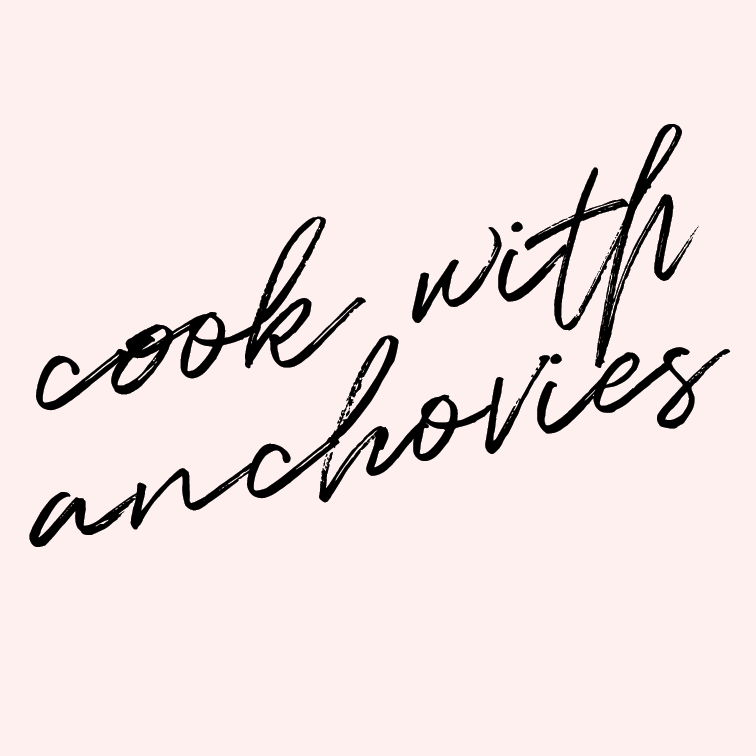 Cook with anchovies.   Anchovies are scary. They look scary, I assume they smell scary, and they likely taste scary. BUT, I'm trying to make myself get out of my food comfort zones and cook with the things that scare me. So if YOU have any favorite recipes that call for anchovies, share please!
