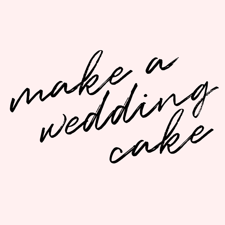 Make a wedding cake.    I'd like to up my cake game a little more, and finishing a multi-tier cake of beauty brings me SO MUCH JOY. If I could do that for someone's special day, that would be the ultimate honor.