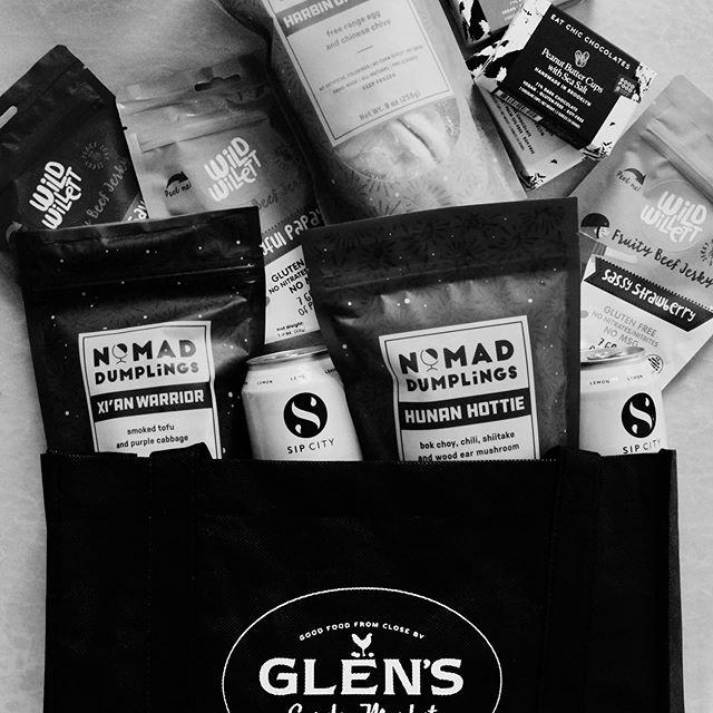 """🚨Giveaway Alert!🚨We've teamed up with all of @Glensgardenmkt's AccelerateHERdc finalists - @Eatchic, @nomaddumplings + @wildwillettfood- to give you a chance to win a BIG bag of treats! In this giveaway, we're including 3 different flavors of @EatChic chocolates, @NomadDumplings and @WildWillett products, and three cans of @sipcitydc's """"The District""""! To enter the contest:  Like this photo Follow @Eatchic @NomadDumplings @WildWillettFood @sipcitydc @Glensgardenmkt  Tag two friends in the comments  This giveaway ends on Thursday, 6/13 at 11:59pm ET and only DC, MD and VA residents are eligible to win. This giveaway is not affiliated with Instagram and the winner will be notified via direct message on Friday, 6/14."""