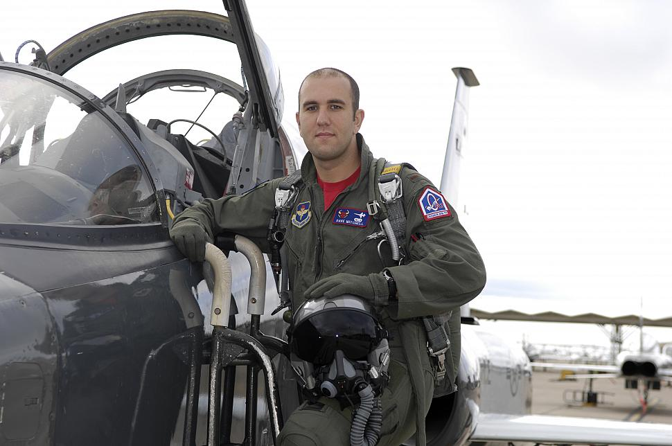 2nd Lt. David Mitchell. Photo Credit: US Air Force