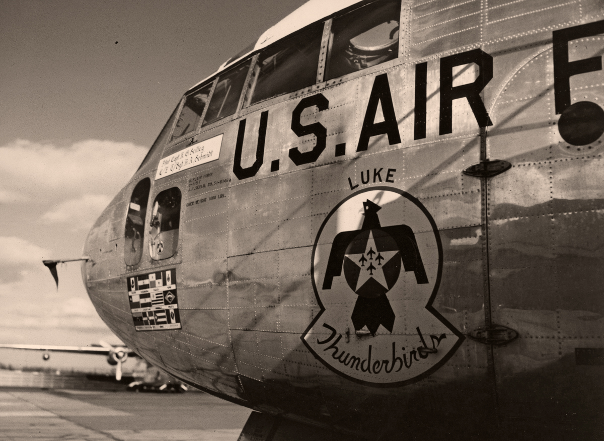 Photo courtesy of the U.S. Air Force Demonstration Squadron Public Affairs Office