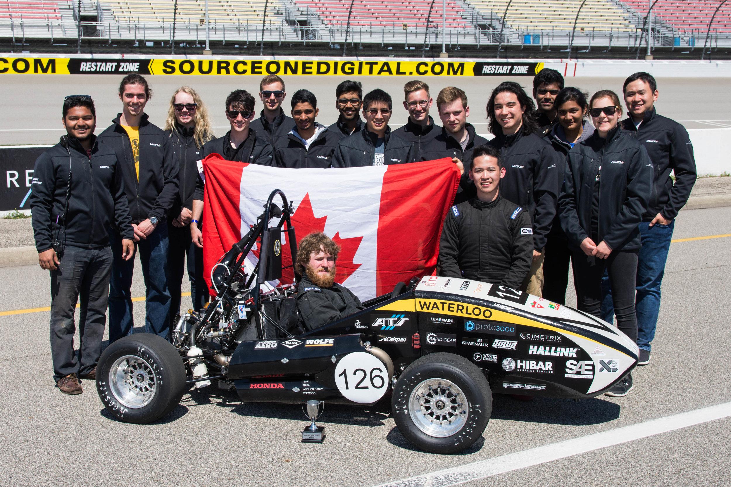 2017 Michigan Formula SAE