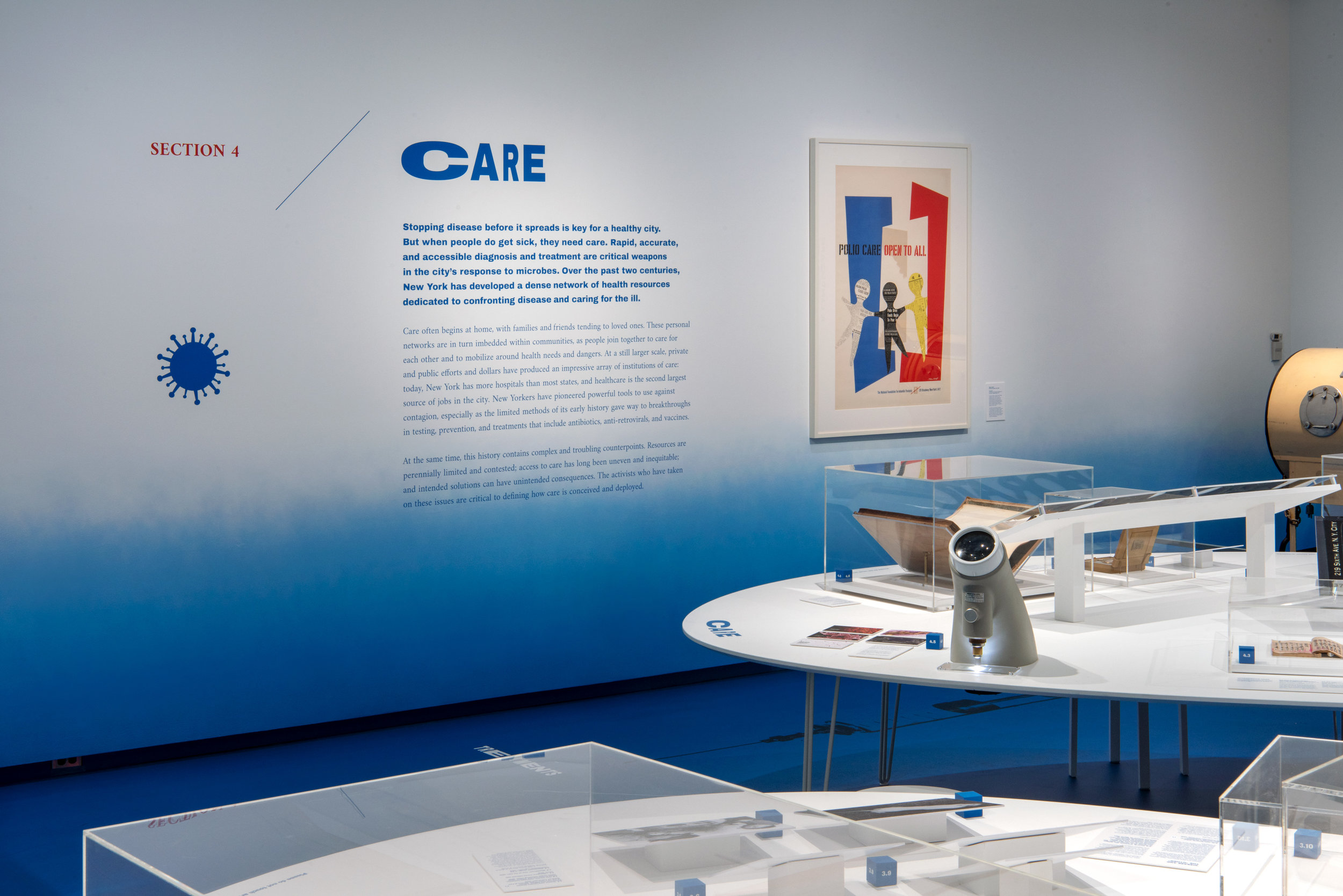 Polio Care Open to All , Milton Ackoff, The Museum of Modern Art. Anonymous gift, 1979.