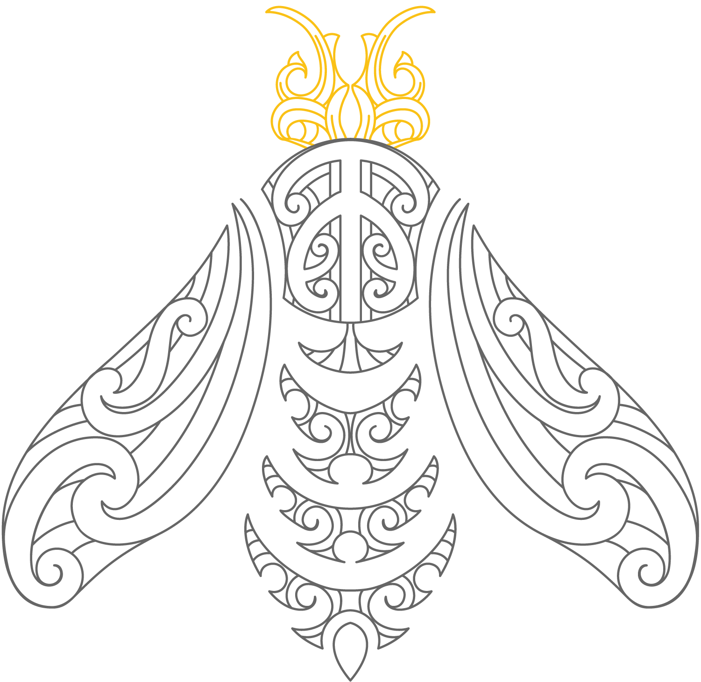 mana kai - fishhook - dark bee.png