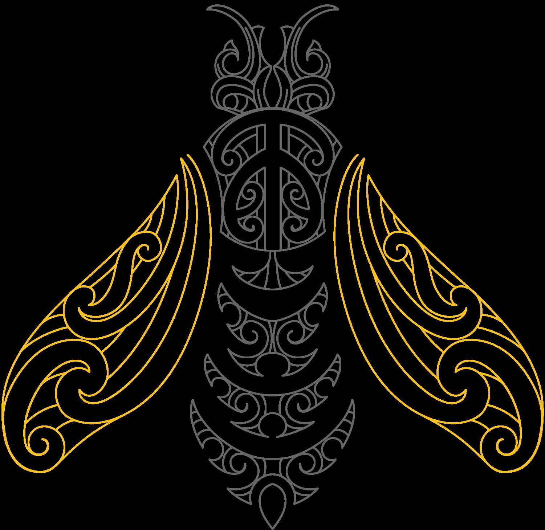 mana kai - koru - dark bee.png