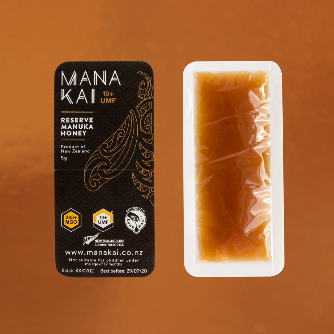 Mana Kai Honey UMF 10+ Manuka Honey snaps
