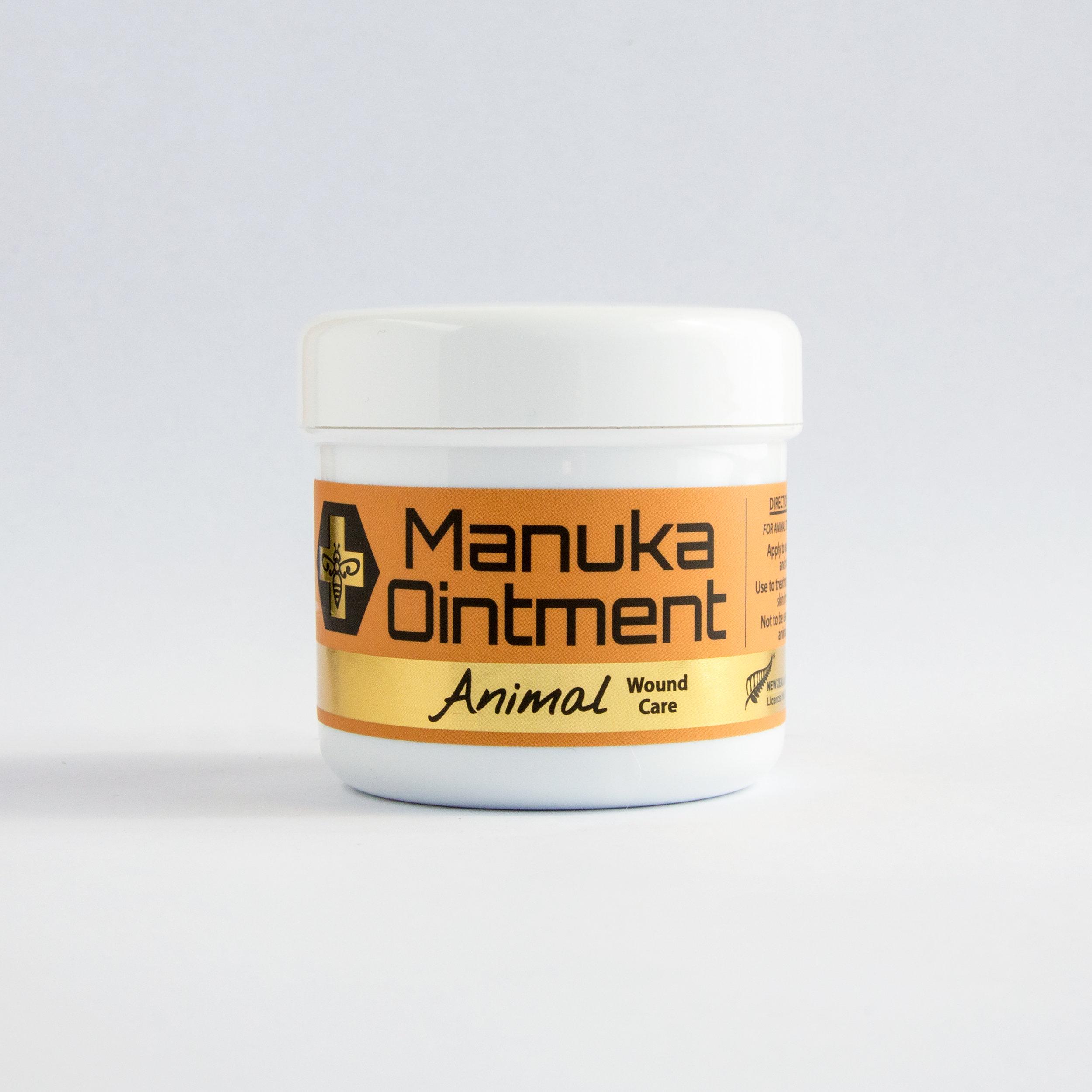 Manuka Ointment Animal Wound Care