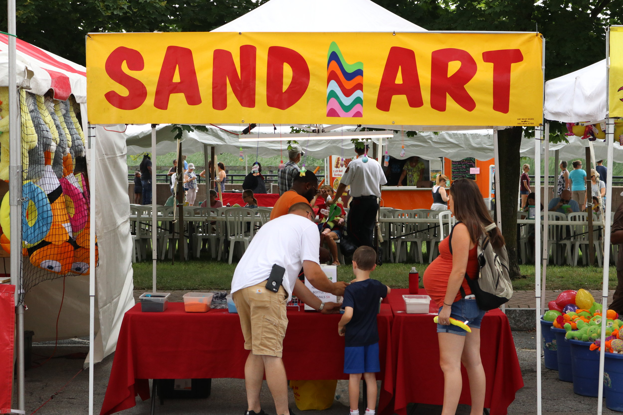 Sand Art - Everyone has an artistic side of them, express that side of your self and make something beautiful and timeless.