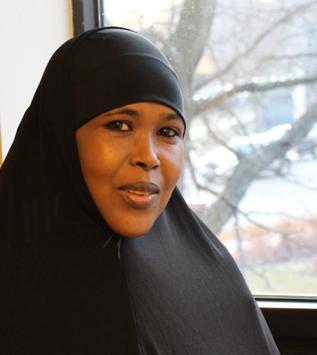 Halima Abdille, Patient