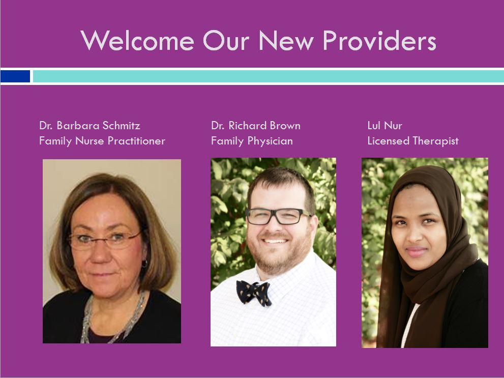 Welcome new providers.JPG