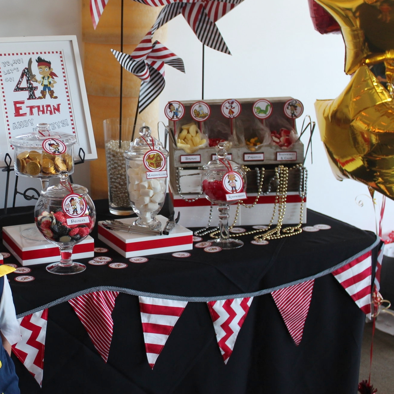 Personalised Bunting, Backdrop or Linen