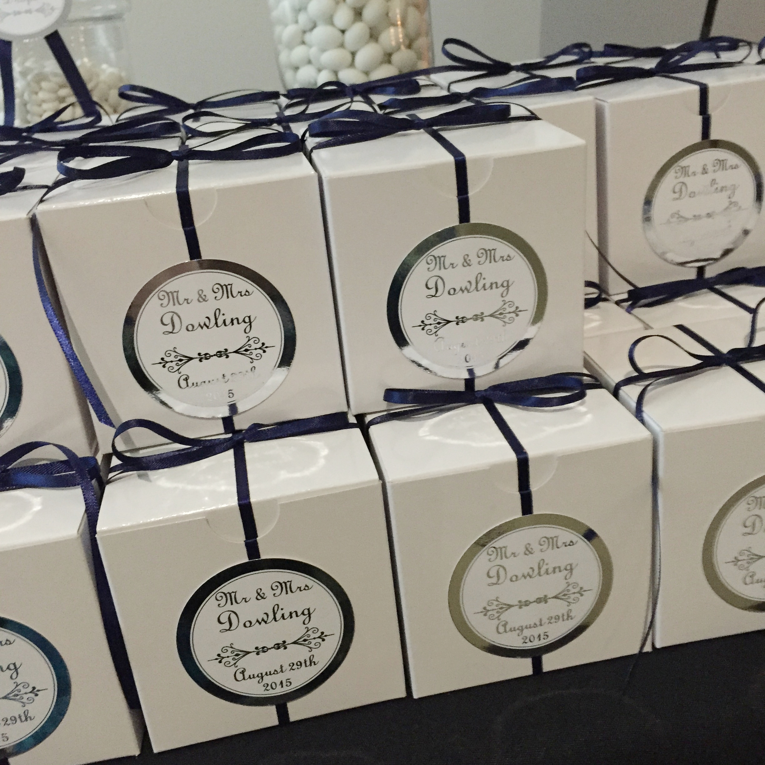 Personalised Labels - Name Cards or Thank You Notes