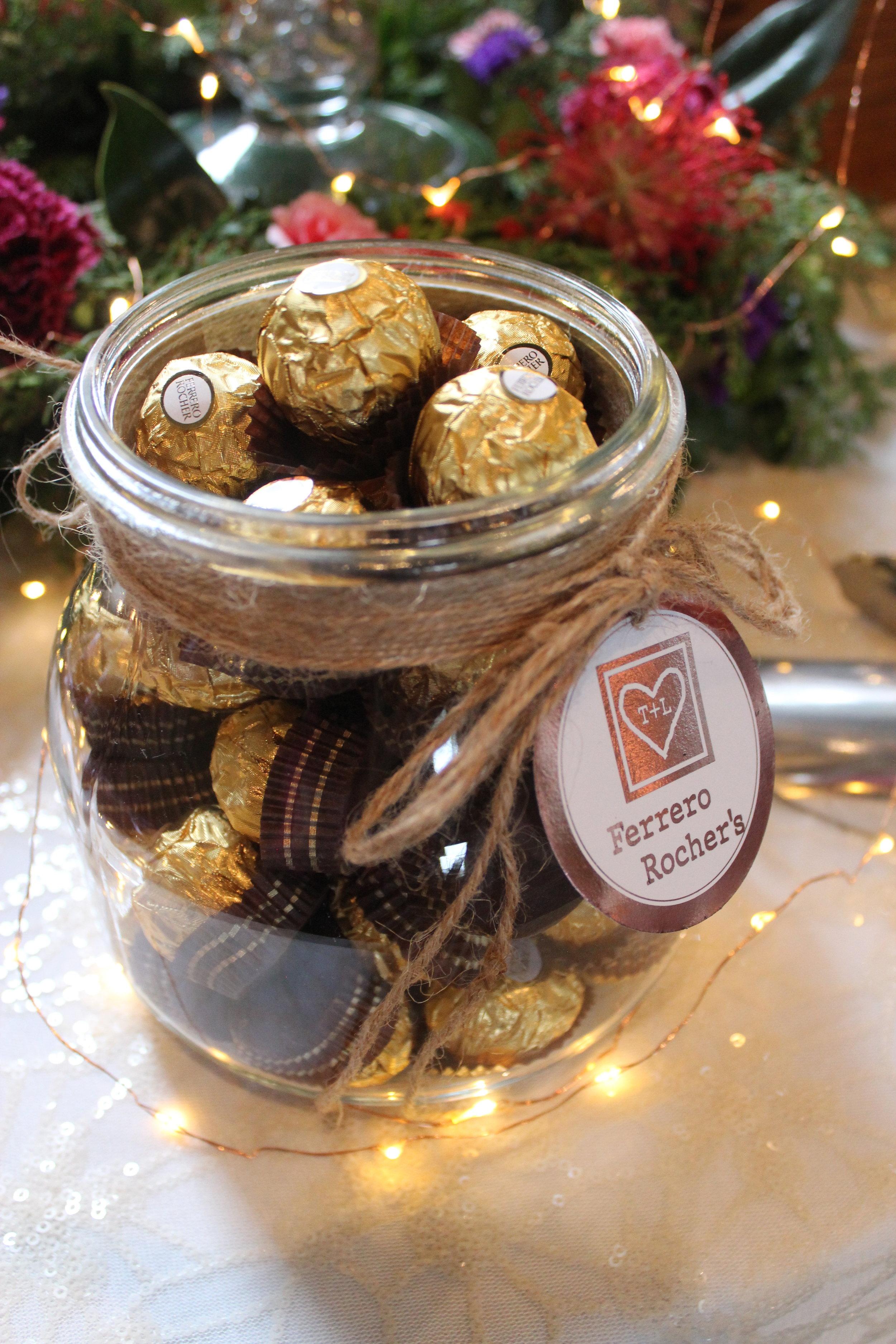 Ferrero Rocher's