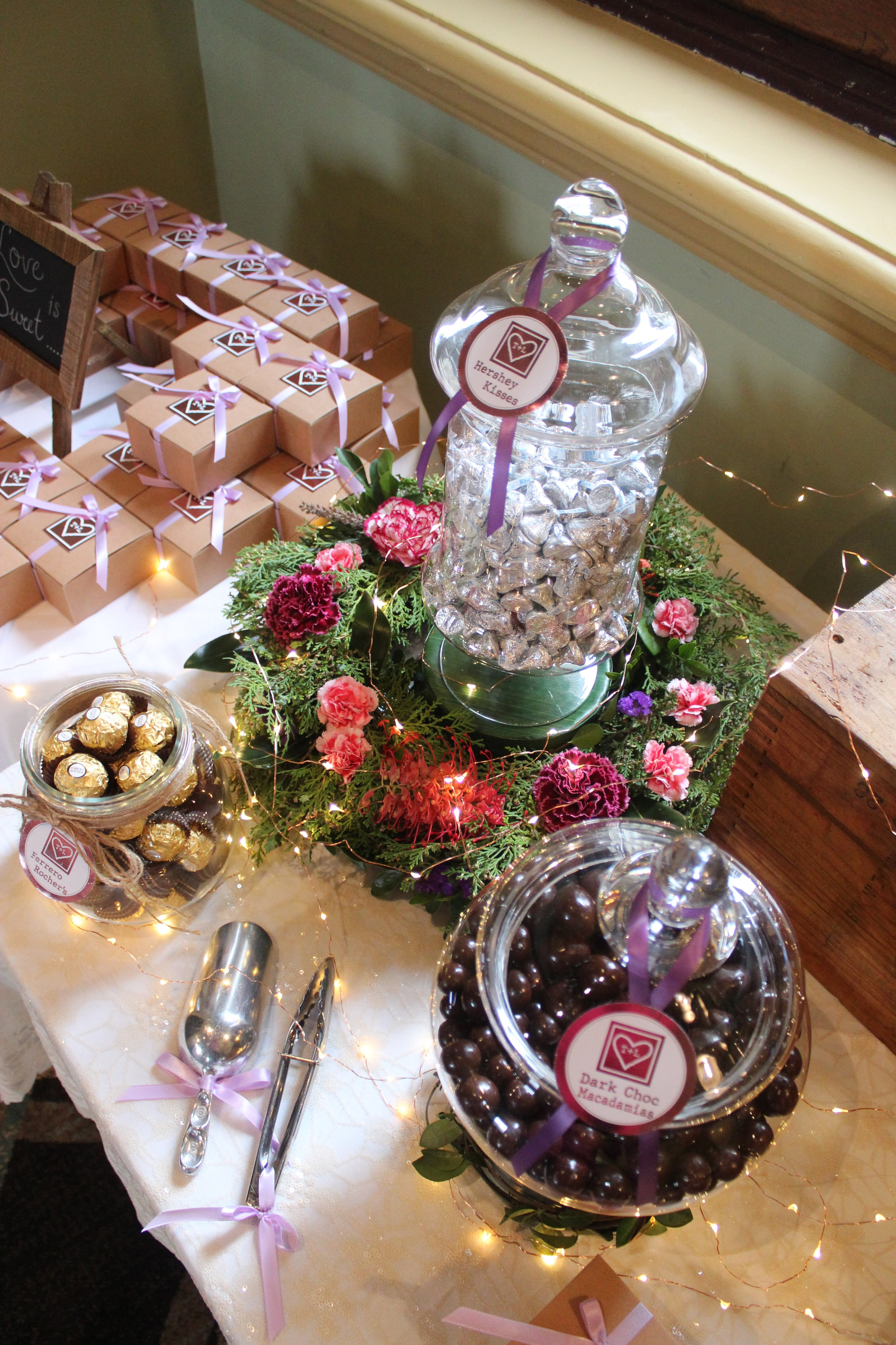 Rustic Lolly Buffet