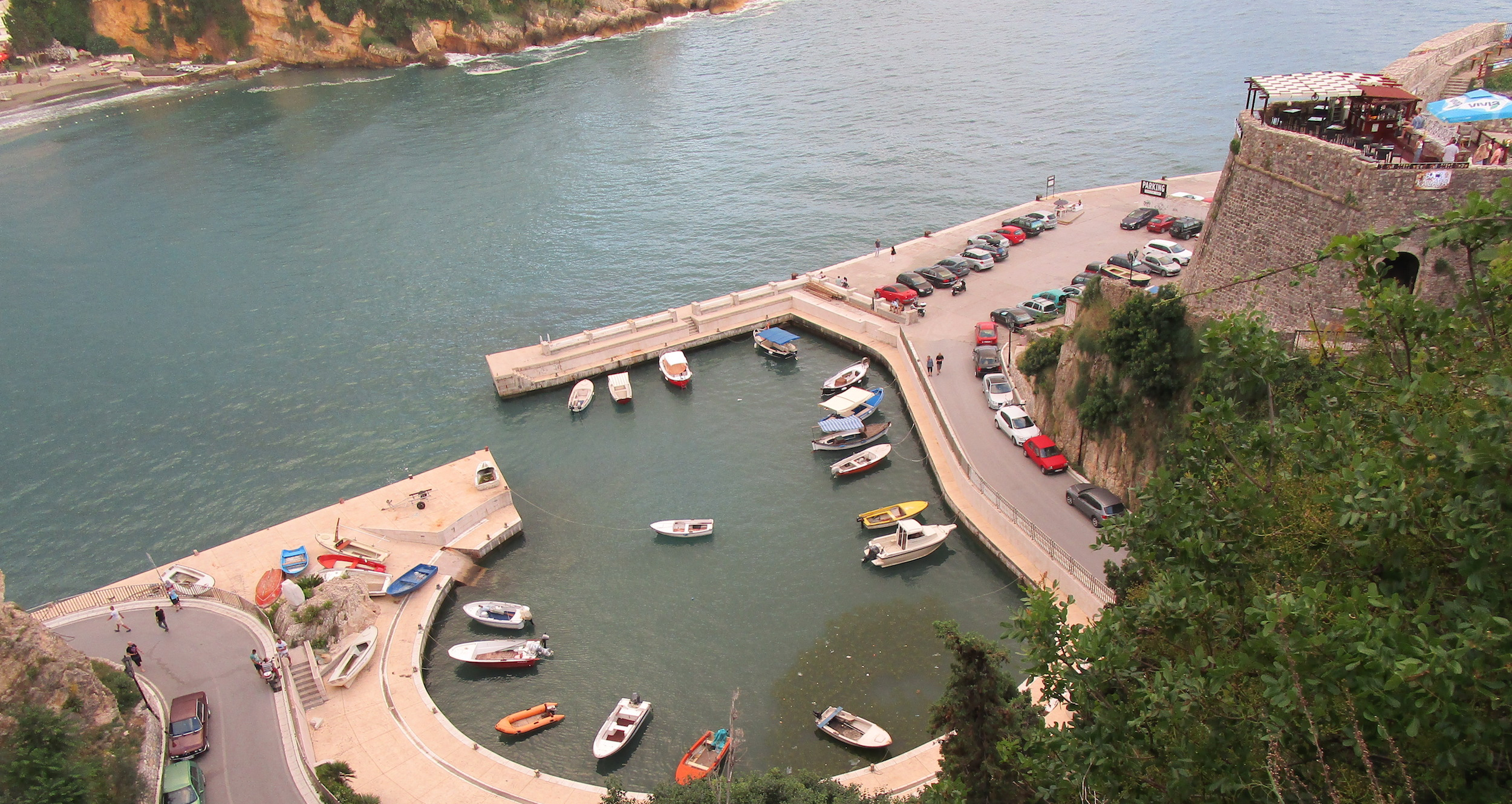 View of Ulcinj Harbour, Montenegro