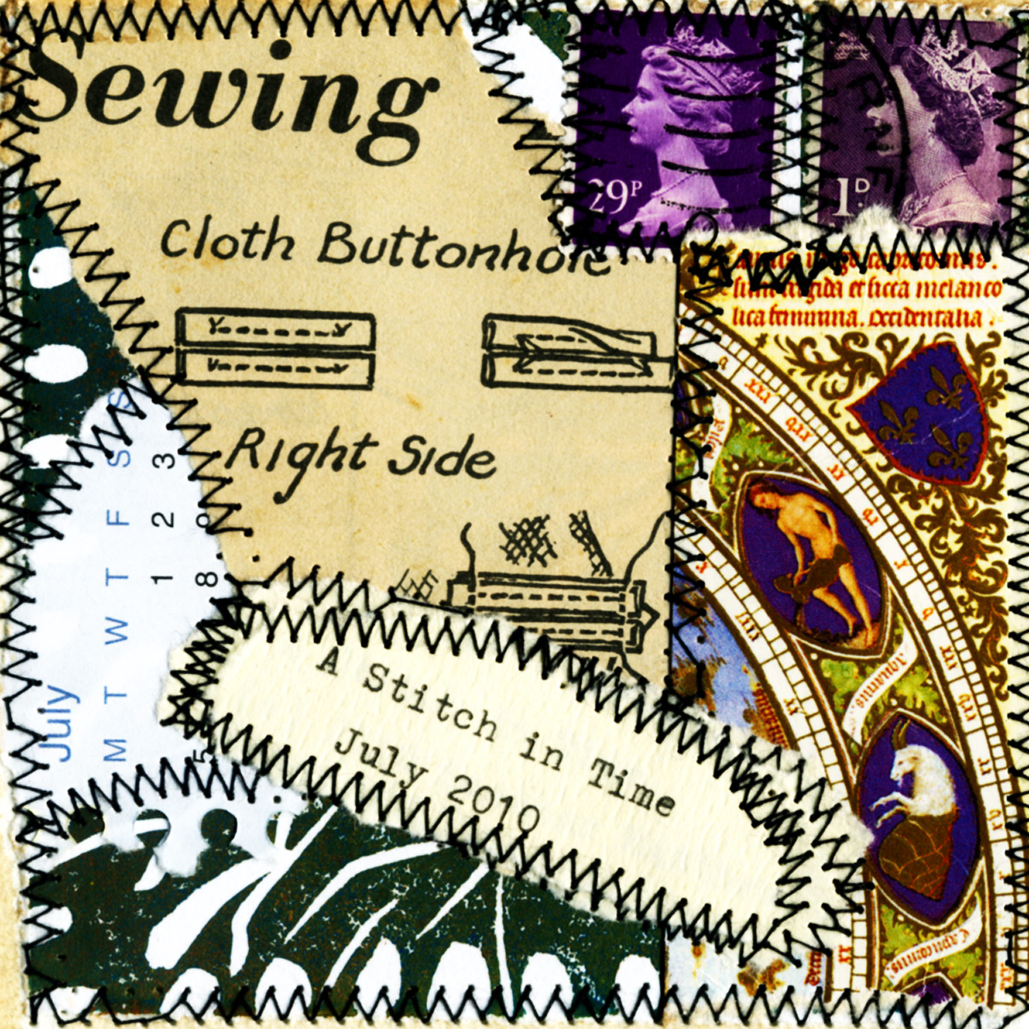 A Stitch in Time July 2010 book cover