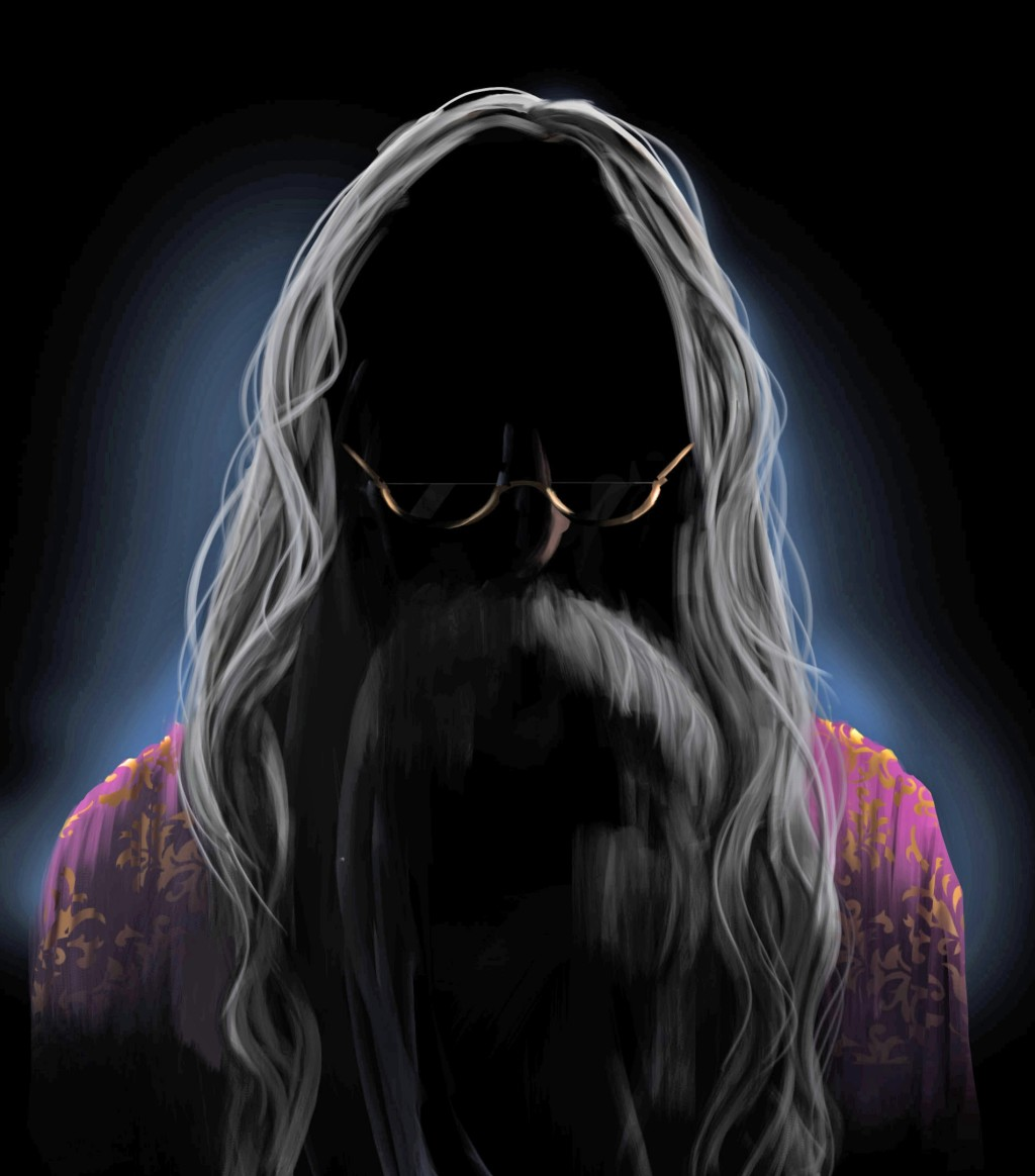Illustration from  the Dumbledore page on Pottermore .