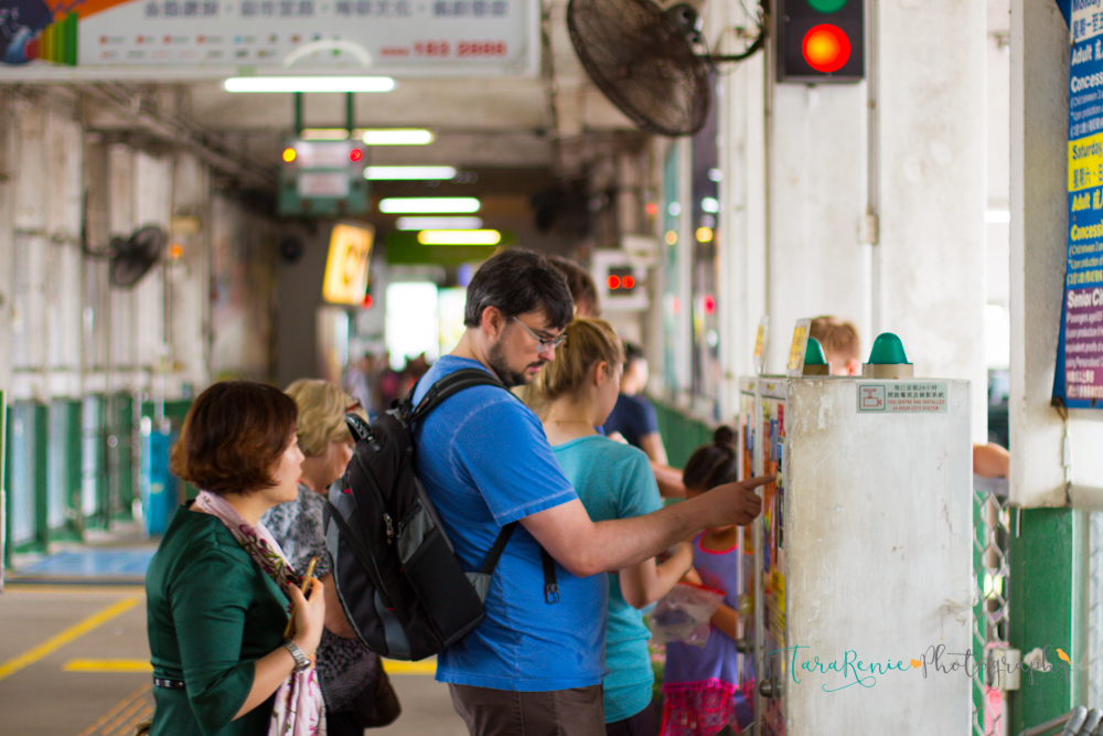 Buying tokens for the Star Ferry