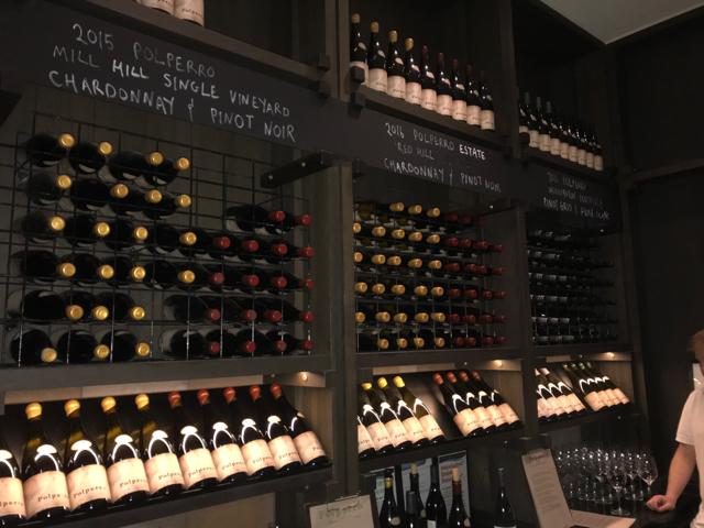 There's Plenty of Chardonnay and Pinot Noir at Mornington's Polperro Winery.