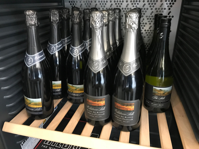 Given the opportunity, do not miss the sparkling wines from Coldstream Hills.